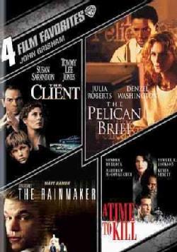 4 Film Favorites: John Grisham (DVD)