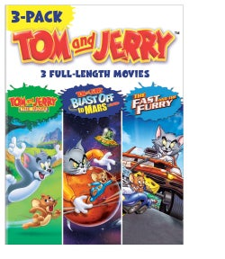 Tom And Jerry Movies (DVD)