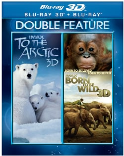 IMAX: To The Artic/Born to be Wild 3D (Blu-ray Disc)