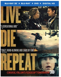 Live Die Repeat (aka Edge of Tomorrow) 3D (Blu-ray/DVD)