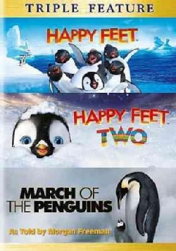 Happy Feet/Happy Feet 2/March Of The Penguins (DVD)