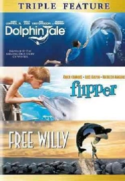 Dolphin Tale/Flipper/Free Willy (DVD)