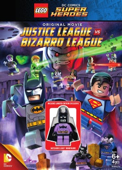 Super Heroes: Justice League vs. Bizarro League (DVD)