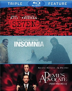 Seven/The Devil's Advocate/Insomnia (Blu-ray Disc)