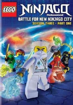Lego Ninjago: Rebooted: Battle for New Ninjago City: Season Three Part One (DVD)