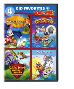 4 Kid Favorites: Tom And Jerry (DVD)