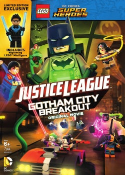 LEGO DC Comics Super Heroes: Justice League: Gotham City Breakout (DVD)