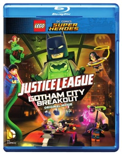 LEGO DC Comics Super Heroes: Justice League: Gotham City Breakout (Blu-ray Disc)