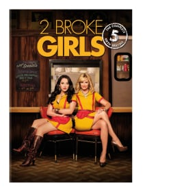 2 Broke Girls: The Complete Fifth Season (DVD)