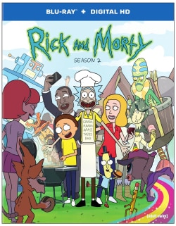 Rick and Morty: The Complete Second Season (Blu-ray Disc)