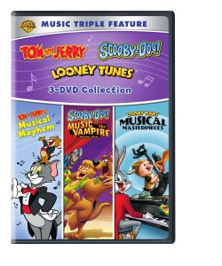 Scooby-Doo, Tom & Jerry and Looney Tunes Music Triple Feature (DVD)