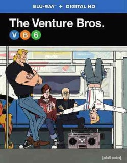 The Venture Bros.: Complete Season Six (Blu-ray Disc)