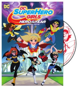 DC Super Hero Girls: Hero of The Year (DVD)
