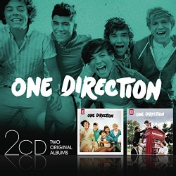ONE DIRECTION - UP ALL NIGHT/TAKE ME HOME