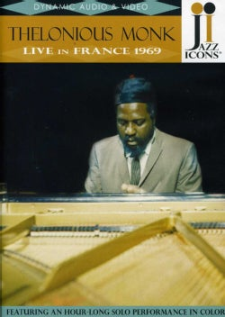 JAZZ ICONS-THELONIUS MONK LIVE IN FRAN