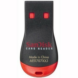 Sandisk Reader, Micromate, Micro Sdhc, Micro SD #SDDR-121...