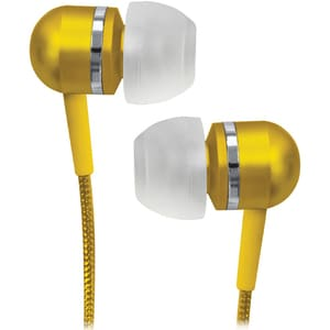 Coby Pink High-Performance Isolation Stereo Earphones