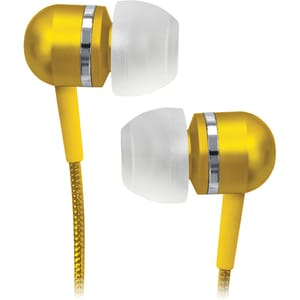 Coby Green High-Performance Isolation Stereo Earphones