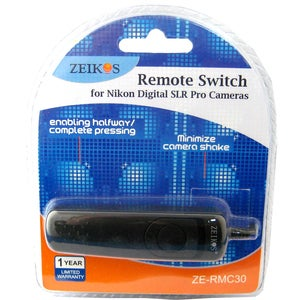 Zeikos Remote Switch for Nikon