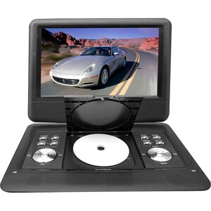 Pyle 14'' Portable TFT/LCD Monitor W/ Built-In DVD Player MP3/MP4/USB SD Slot - Thumbnail 0