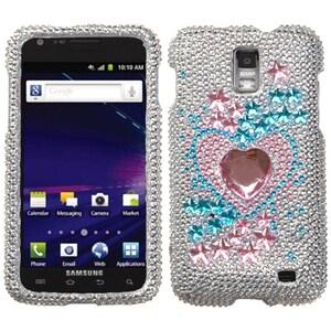 Insten Star Track Diamond Phone Case Cover for Samsung Ga...