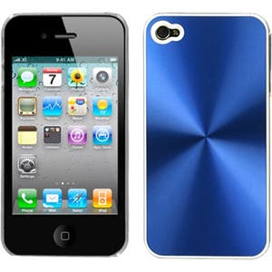 INSTEN Blue/ Cosmo Phone Case Cover for Apple iPhone 4S/ 4