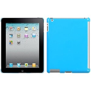 INSTEN Natural Turquoise SmartSlim Back Tablet Case Cover for Apple iPad 1/ 2/ 4
