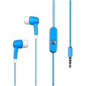 Insten Blue Stereo hands free 814 for Apple iPod Touch Ge...