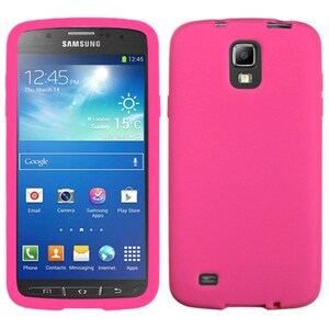 INSTEN Hot Pink Phone Case Cover for Samsung i537 Galaxy S4 Active