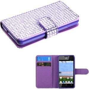 INSTEN Wallet Phone Case Cover for Huawei H881C Ascend Plus