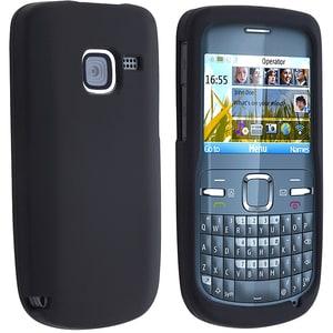 Black Skin Case for Nokia