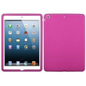 INSTEN Solid Hot Pink Tablet Case Cover for Apple iPad Air