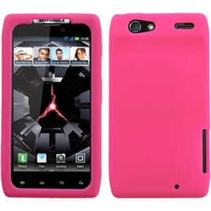 Insten Solid Hot Pink Skin Phone Case Cover for Motorola ...