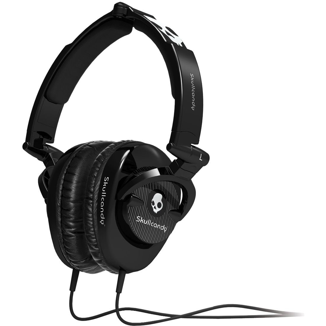 Skullcandy DJ Headphones w/Subwoofer (Black)