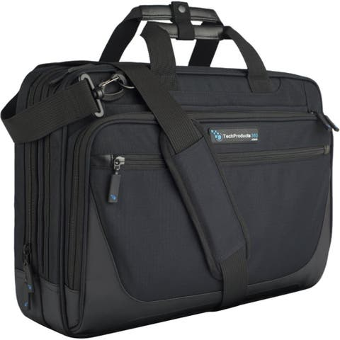 "TechProducts360 Tech Brief Carrying Case (Briefcase) for 15.6"" Notebook"
