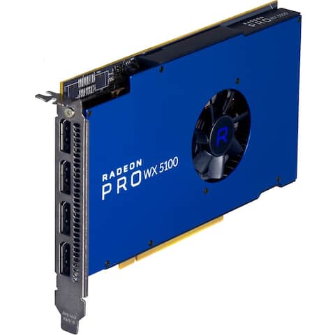 AMD Radeon Pro WX 5100 Graphic Card - 8 GB GDDR5 - Full-height