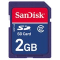 SanDisk 2GB (SD) Secure Digital Memory Card