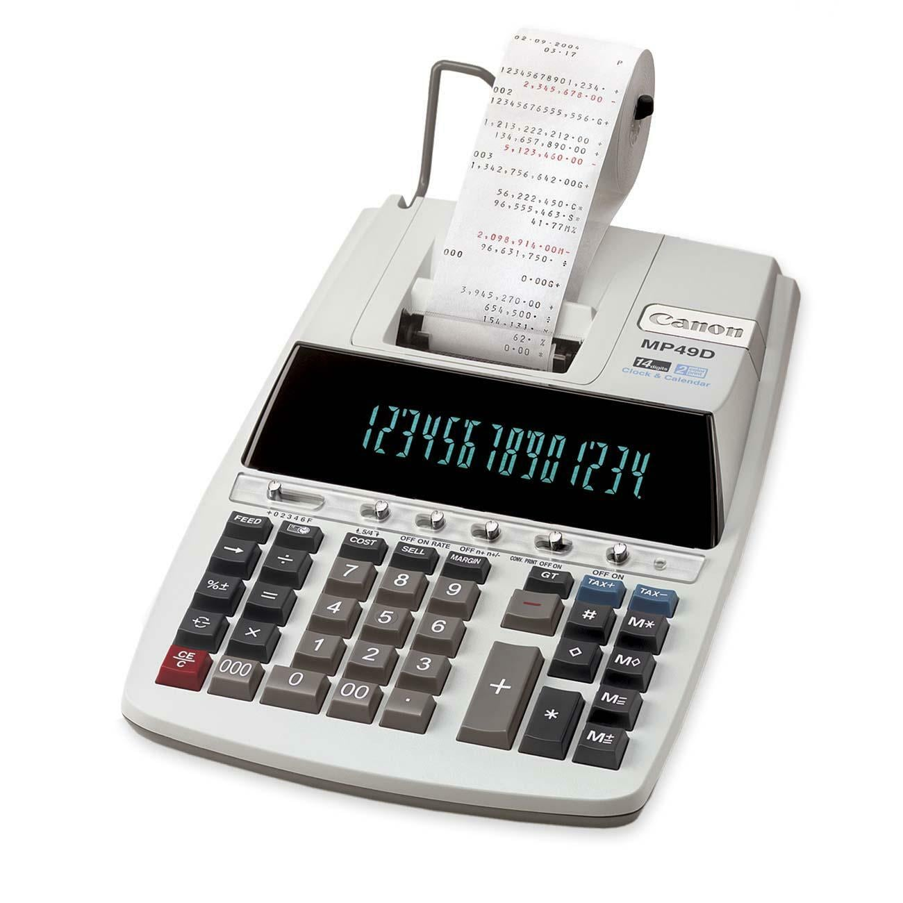Canon 14-Digit 2-Color Printing Calculator