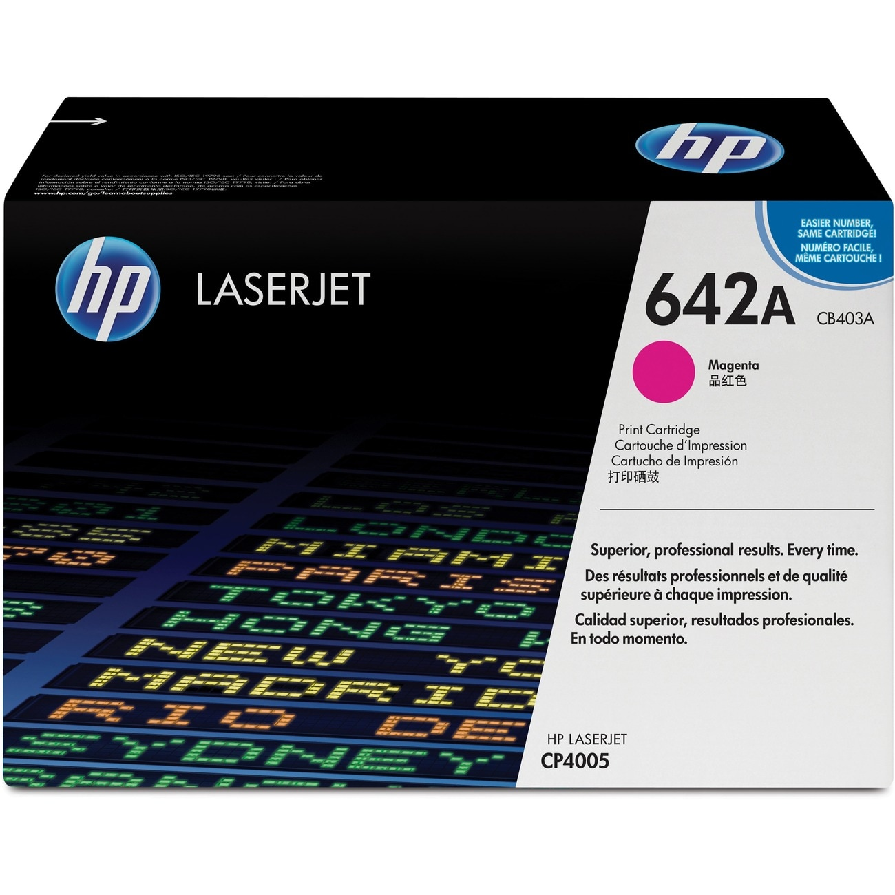 HP Toner Cartridge - Magenta