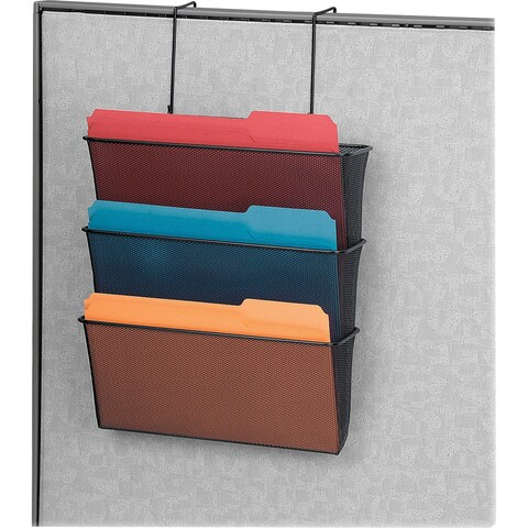 Fellowes Mesh Partition Additions Triple File Pocket