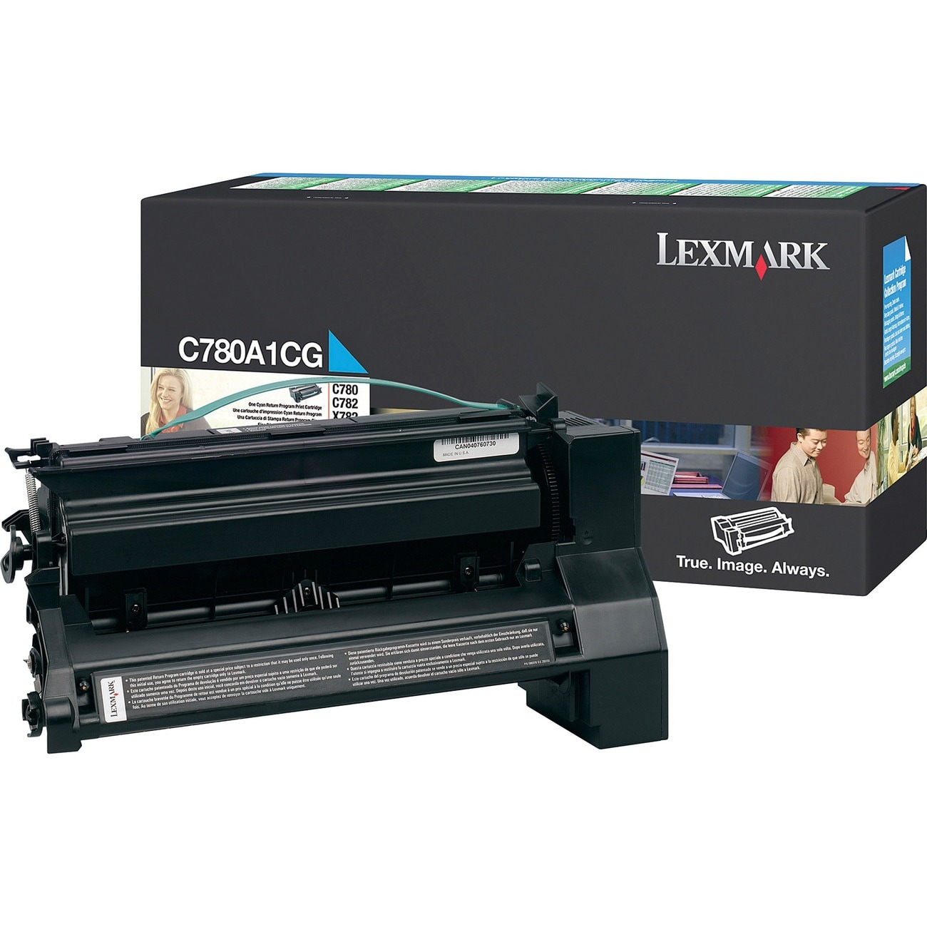 Lexmark Return Program Cyan Toner Cartridge