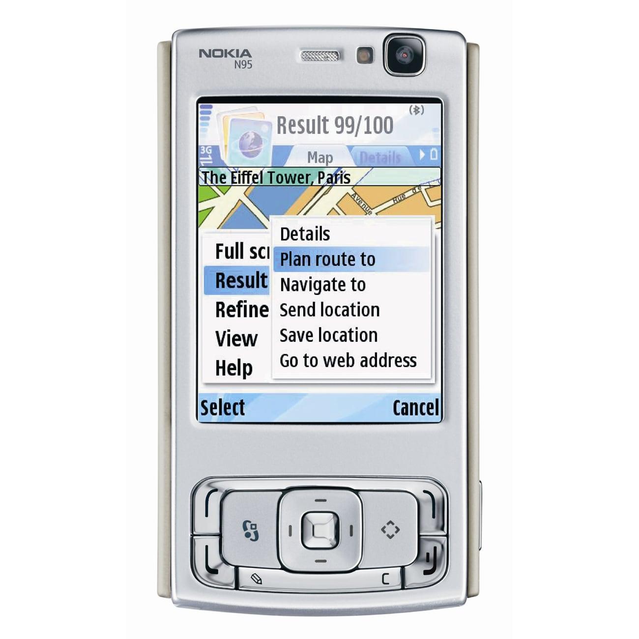 """Nokia N95 160 MB Smartphone - 2.6"""" LCD 240 x 320 - 5 Mega..."""