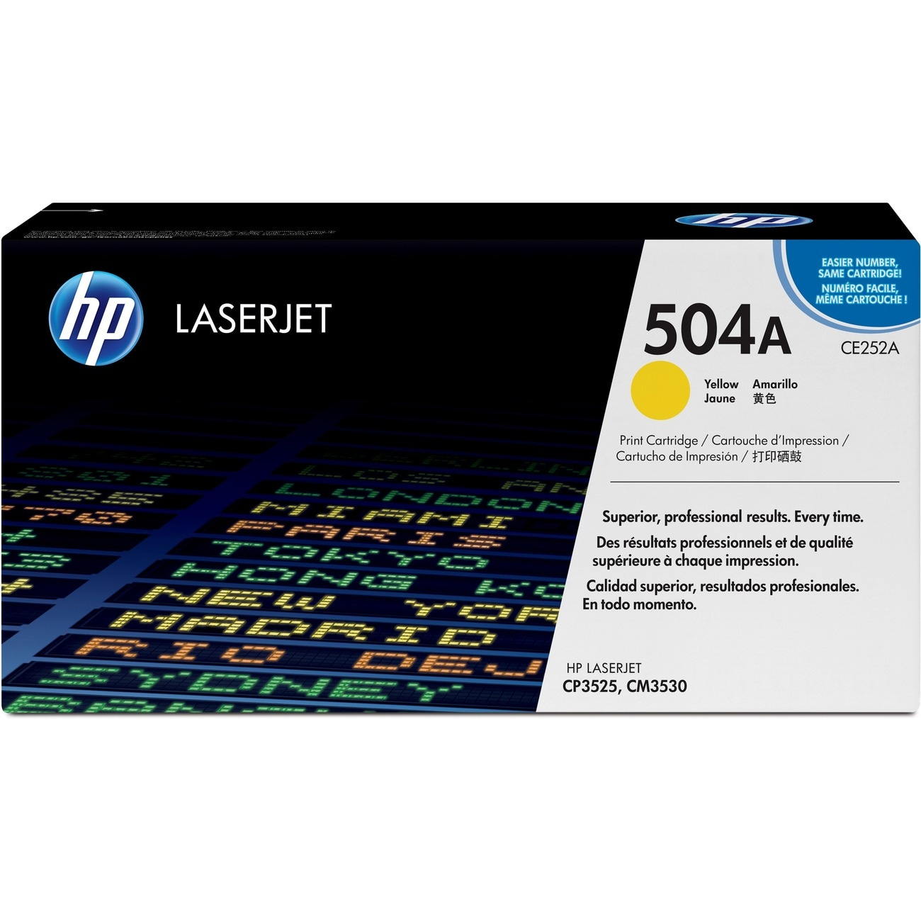 HP 504A Yellow Toner Cartridge