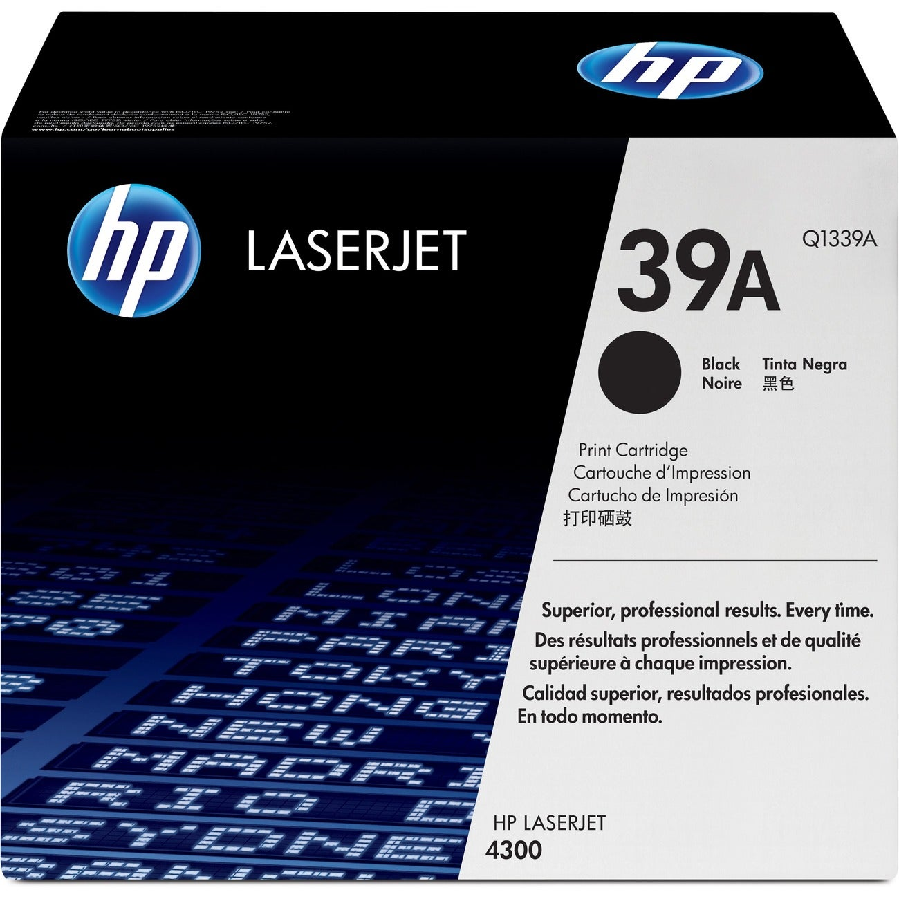 HP Black Toner Cartridge - 18000 Page - Black - Package: 1 - Thumbnail 0