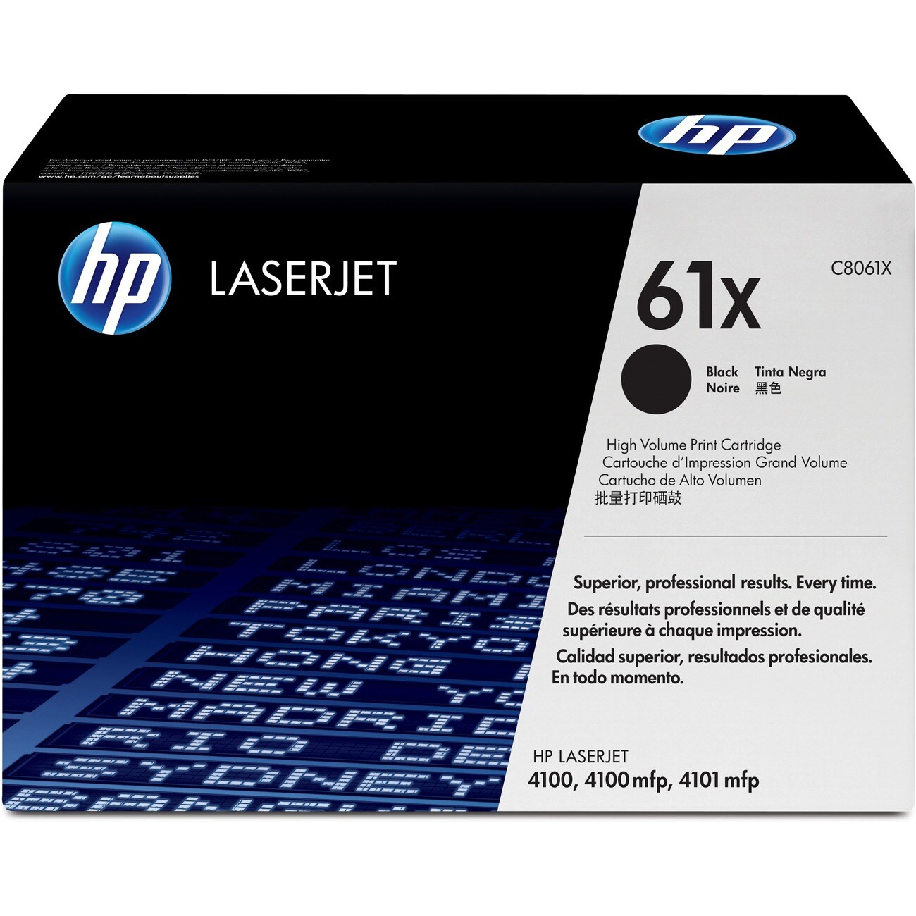 HP 61X Black Toner Cartridge