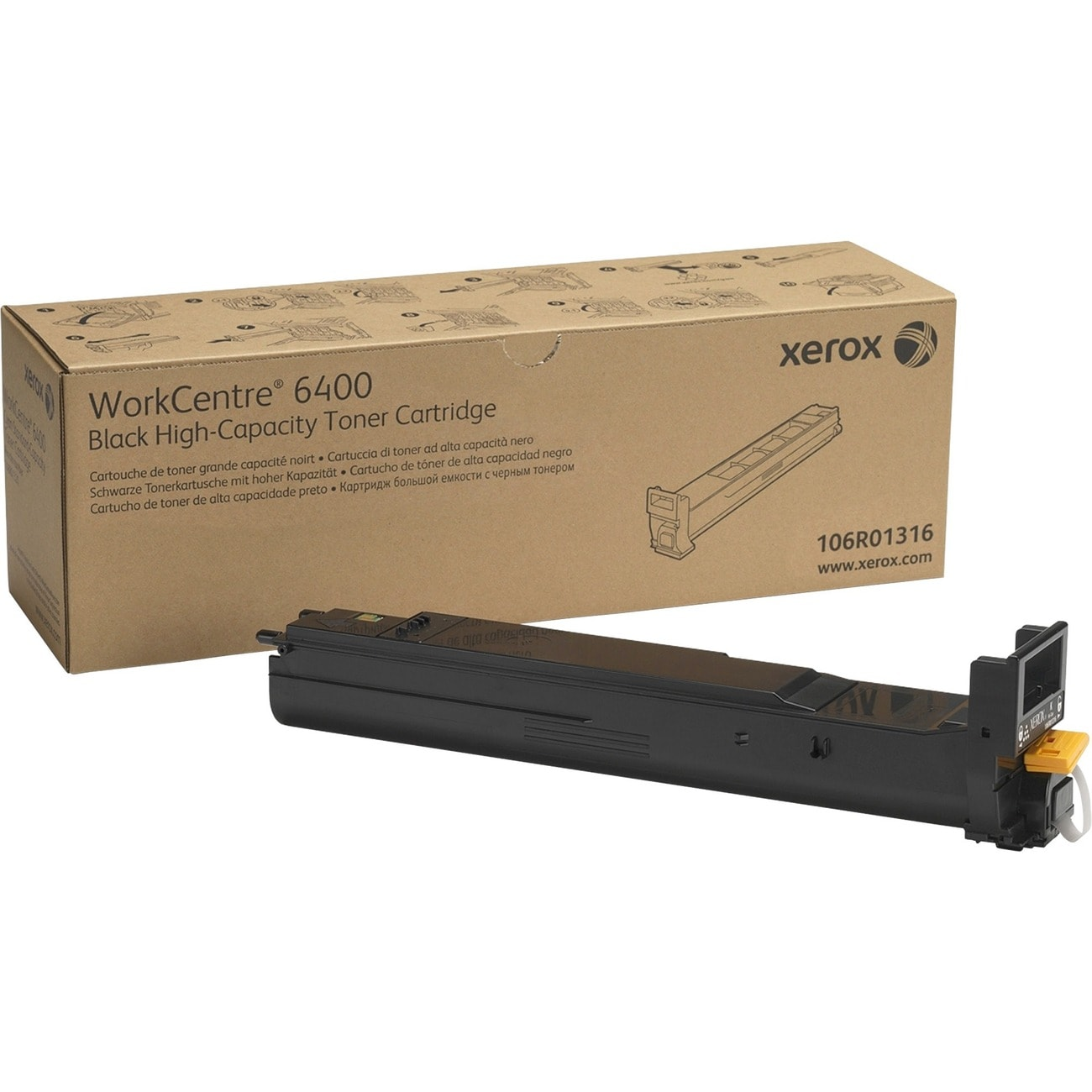 Xerox Black Toner Cartridge