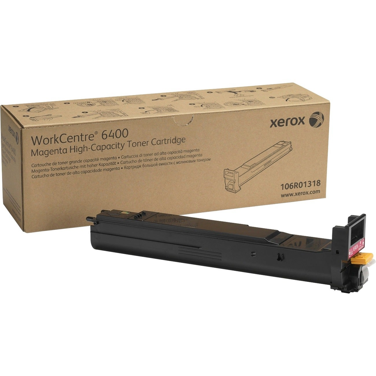 Xerox High Capacity Magenta Toner Cartridge - Thumbnail 0