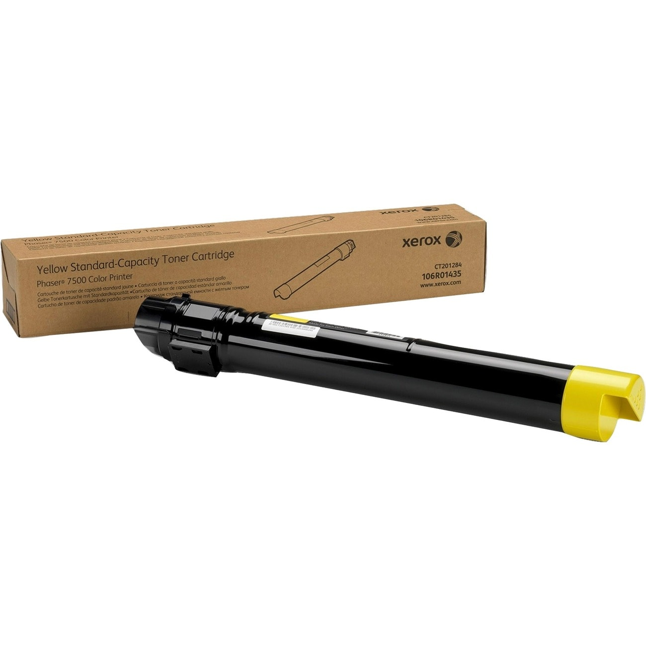 Xerox Yellow Laser Toner Cartridge