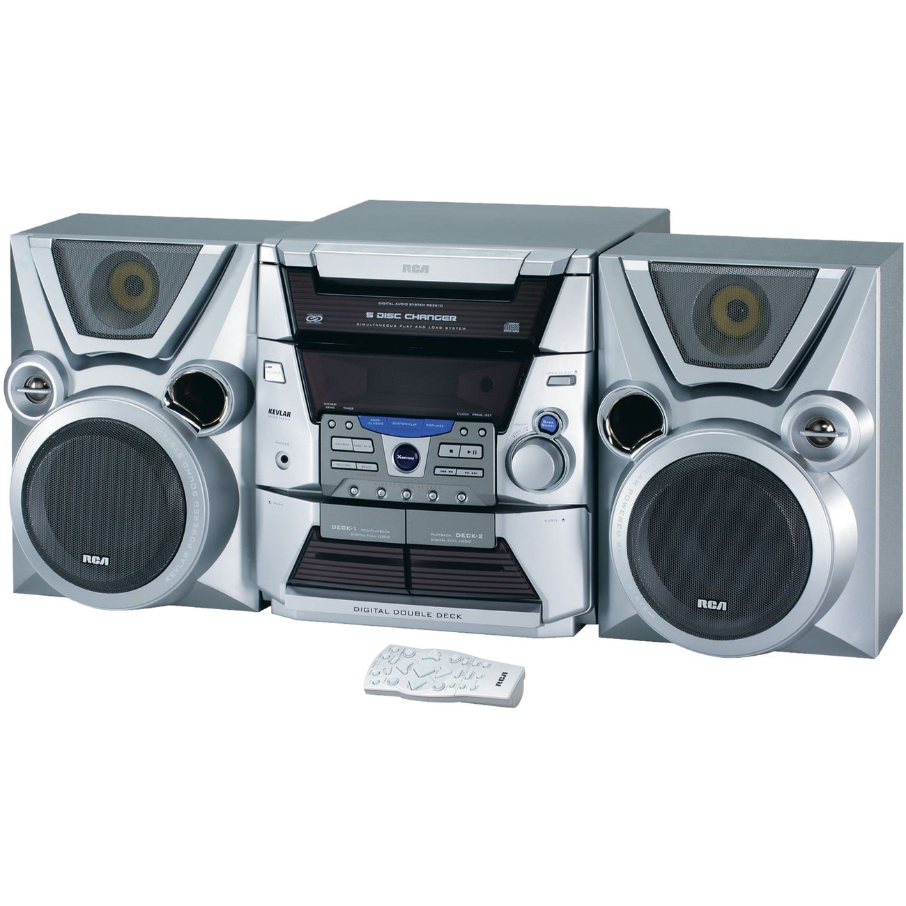 Shop RCA RS2610 Mini Hi-Fi System - 300 W RMS - Free Shipping Today ...