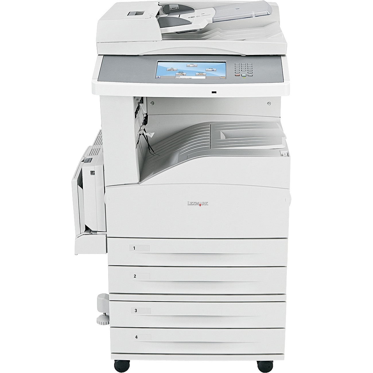 Lexmark X860 X862DTE 4 Laser Multifunction Printer - Monochrome - Pla
